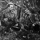 Mikhail Mayorov and Fyodor Sakhirov in Opasnye tropy (1955)