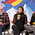 Richard Jenkins, Evan Rachel Wood, and Gina Rodriguez at an event for The IMDb Studio at Acura Festival Village (2020)