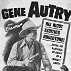 Gene Autry, Smiley Burnette, and Gail Davis in Whirlwind (1951)