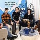 Leo Sheng at Vulture Studio for 'Adam.' Sundance Film Festival 2019.
