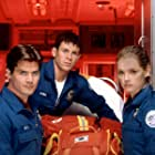 Victor Browne, Christian Kane, and Marjorie Monaghan in Rescue 77 (1999)