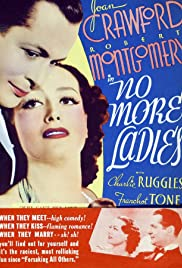 No More Ladies (1935) Poster - Movie Forum, Cast, Reviews