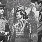 Gene Autry, Gail Davis, and Ross Ford in Blue Canadian Rockies (1952)