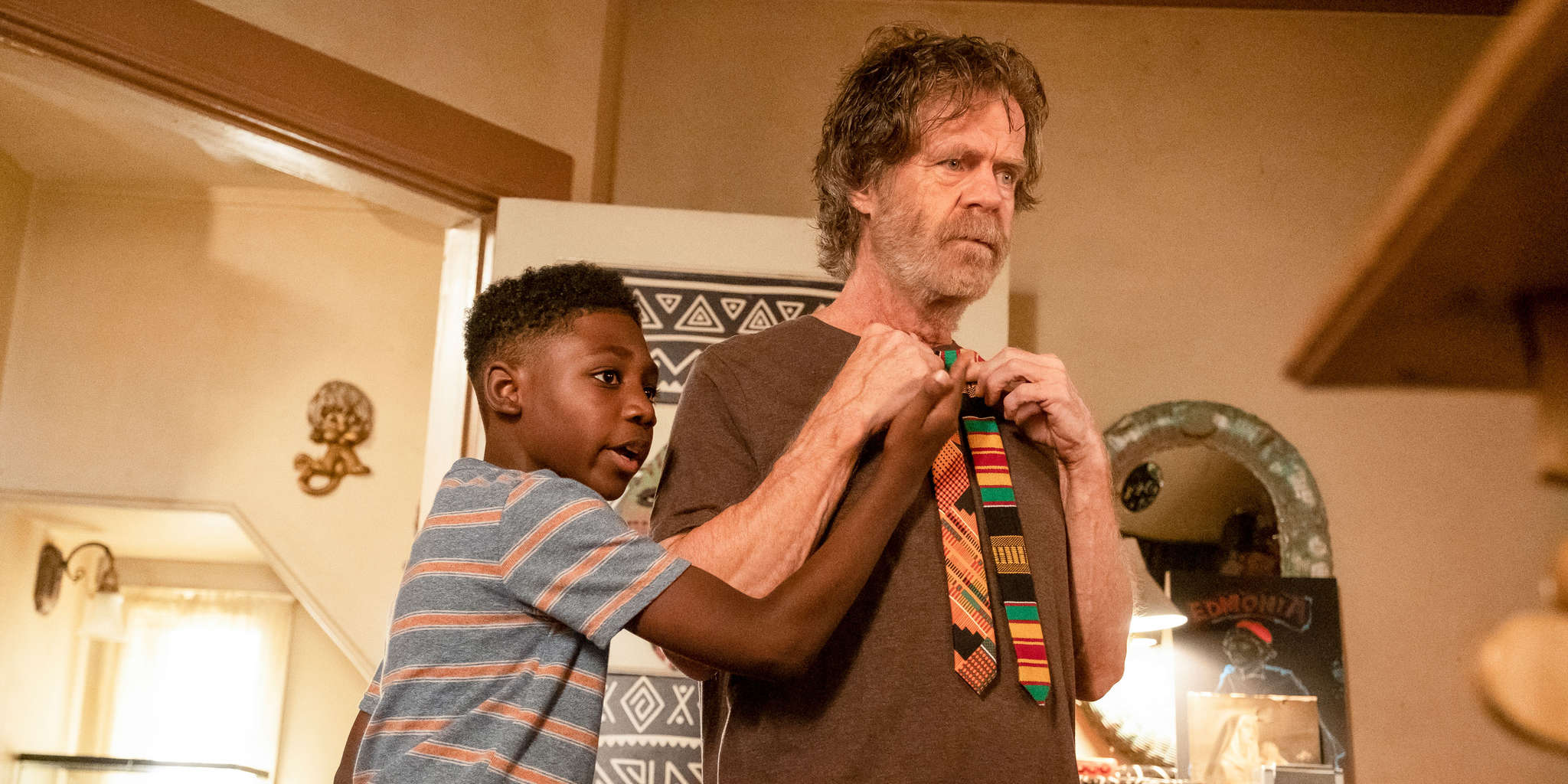 William H. Macy and Christian Isaiah in Adios Gringos (2019)