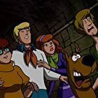 Matthew Lillard, Mindy Cohn, Grey Griffin, and Frank Welker in Scooby-Doo! Stage Fright (2013)