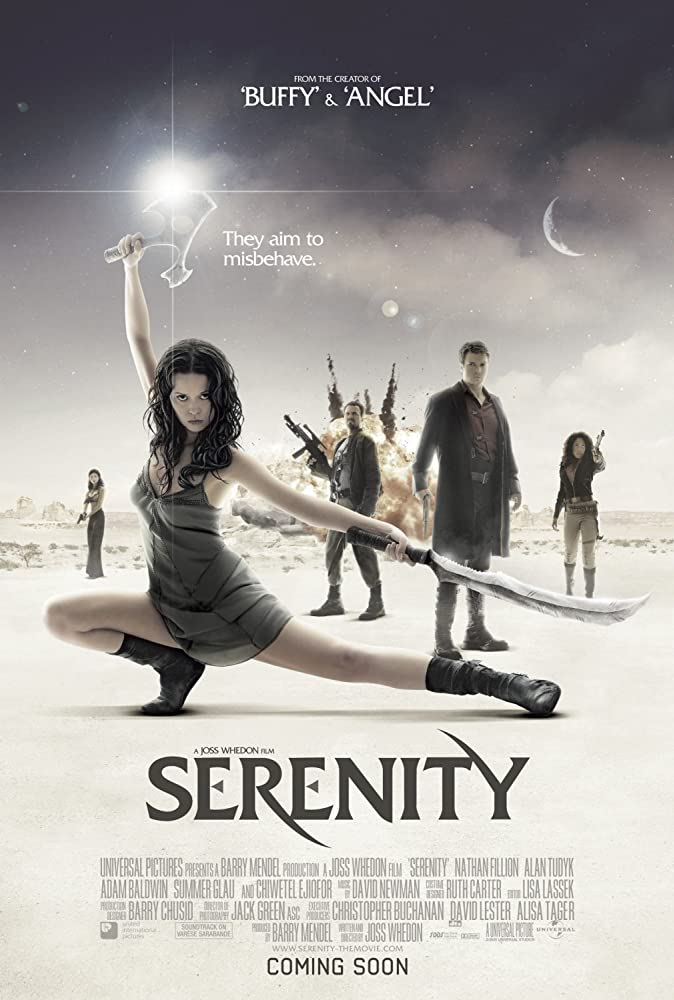 Serenity 2005 Hindi Dual Audio 400MB BluRay ESubs Download