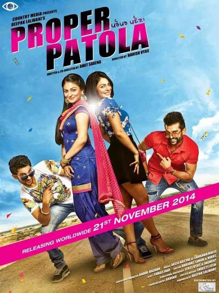 Proper Patola (2014) Punjabi 720p HEVC HDRip x265 AAC Full  (600MB) Full Movie Download