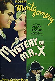 The Mystery of Mr. X (1934) Poster - Movie Forum, Cast, Reviews