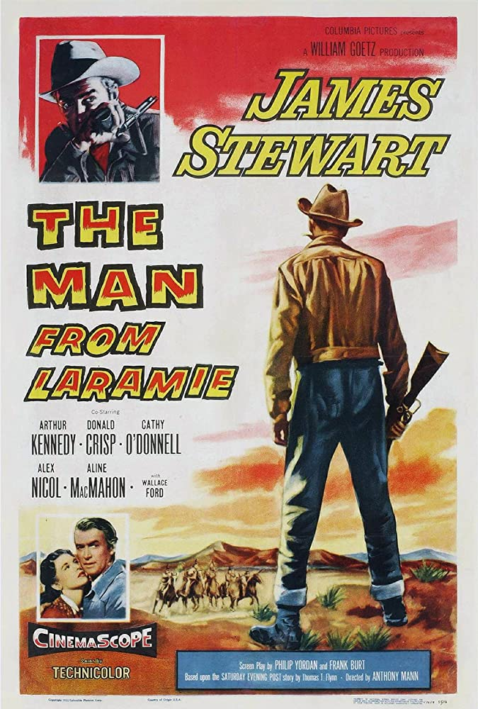 James Stewart and Cathy O'Donnell in The Man from Laramie (1955)