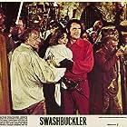 Geneviève Bujold, Robert Shaw, Bernard Behrens, and Geoffrey Holder in Swashbuckler (1976)