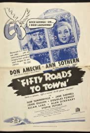 Fifty Roads to Town Poster