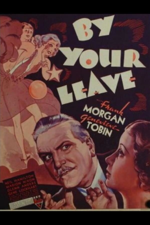 Frank Morgan and Genevieve Tobin in By Your Leave (1934)