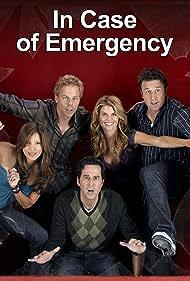 David Arquette, Jonathan Silverman, Kelly Hu, Greg Germann, and Lori Loughlin in In Case of Emergency (2007)