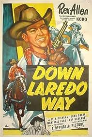Slim Pickens, Rex Allen, and Koko in Down Laredo Way (1953)