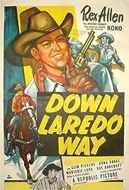 Down Laredo Way Poster