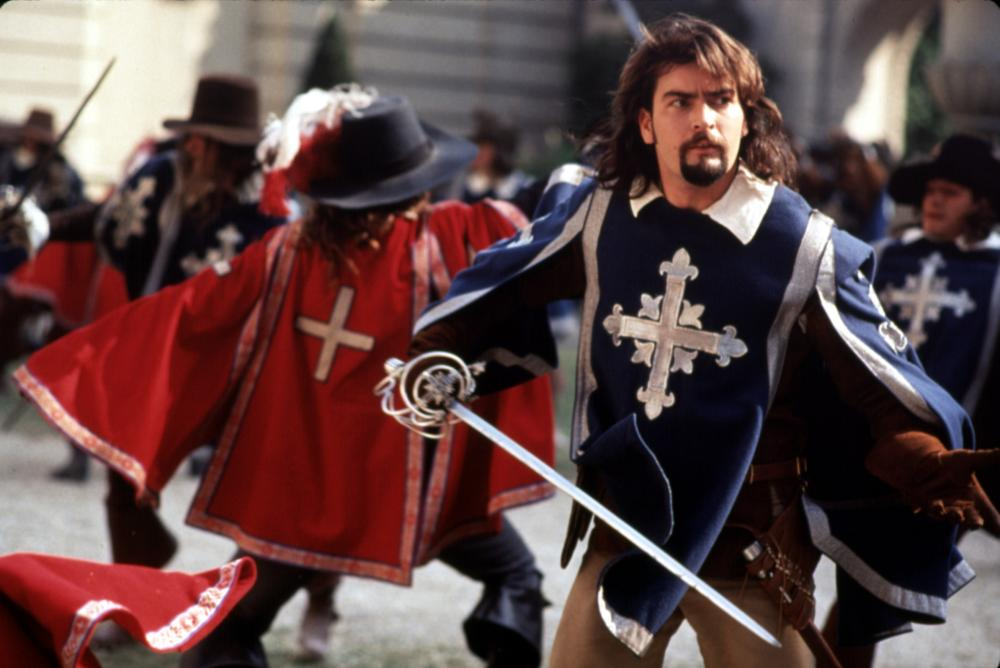Charlie Sheen in The Three Musketeers 1993