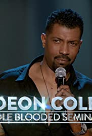 Deon Cole: Cole Blooded Seminar Poster