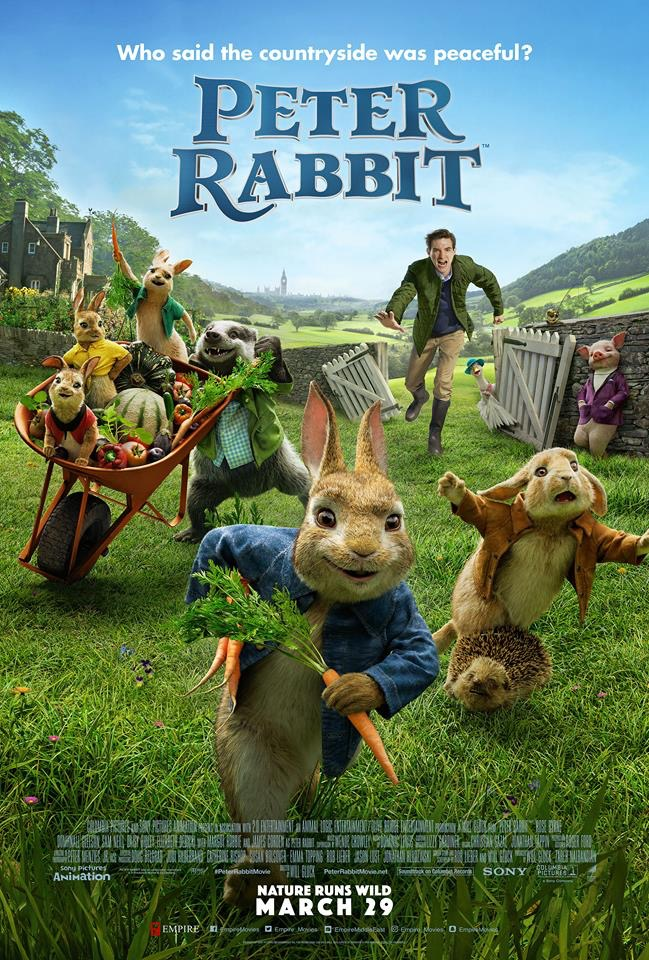 Peter Rabbit 2018 full hd Hindi ORG Dual Audio 720p BluRay 500MB HEVC x265 ESubs