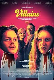 Kyra Sedgwick, Jeffrey Donovan, Bill Skarsgård, and Maika Monroe in Villains (2019)
