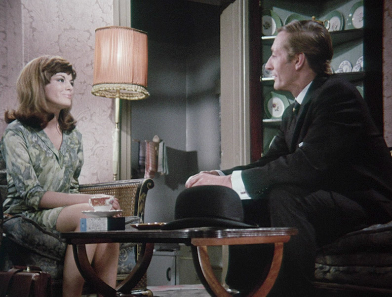 Geraldine Moffat and John Neville in George's Room (1967)