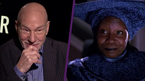 "Why Patrick Stewart Wants Whoopi Goldberg in ""Picard"" video"