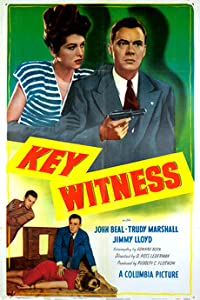 Watch online movie latest hollywood movies Key Witness [WEBRip]