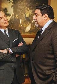 Samuel Labarthe and Dominique Thomas in Les petits meurtres d'Agatha Christie (2009)