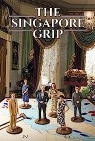 Charles Dance, David Morrissey, Elizabeth Tan, Luke Treadaway, and Georgia Blizzard in The Singapore Grip (2020)