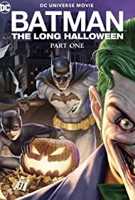 Jensen Ackles, Naya Rivera, and Troy Baker in Batman: The Long Halloween, Part One (2021)