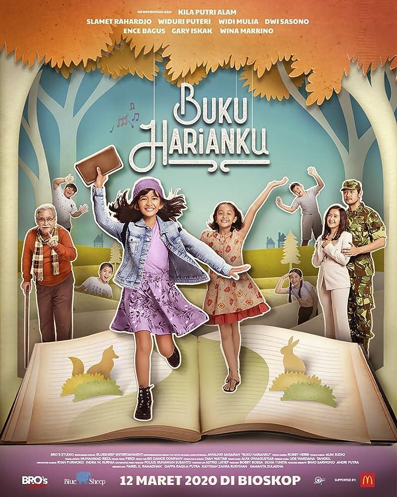 Poster Buku Harianku