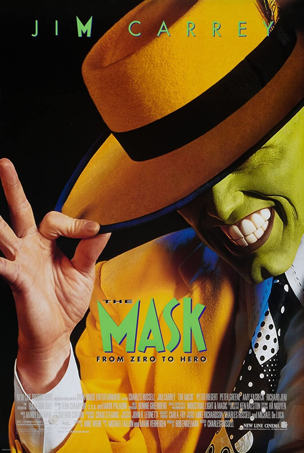 The Mask 1994 Hindi Dual Audio 720p BluRay ESubs 740MB Free Download