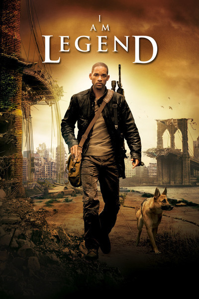 I Am Legend 2007 Dual Audio Hindi 400MB BluRay ESub Download