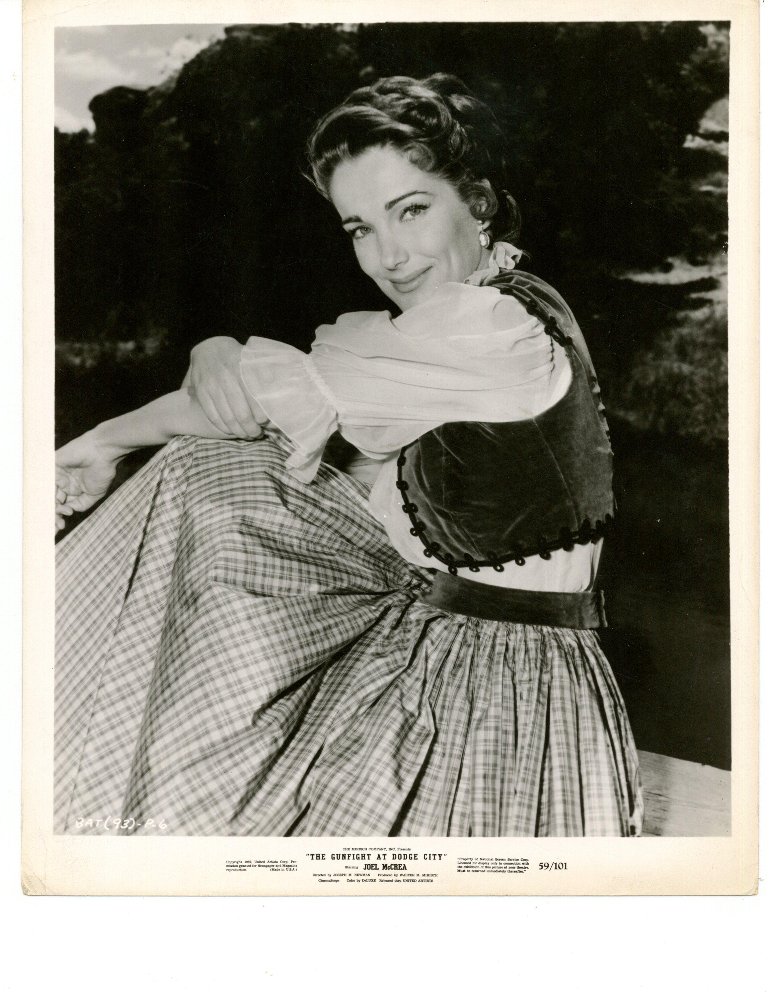 Julie Adams in The Gunfight at Dodge City (1959)