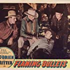 John Cason, I. Stanford Jolley, Kermit Maynard, and Tex Ritter in Flaming Bullets (1945)