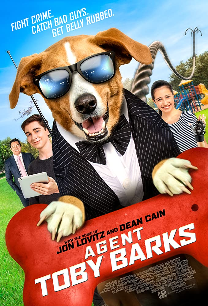 Agent Toby Barks 2020 English 720p HDRip 850MB Download
