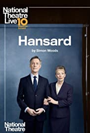 National Theatre Live: Hansard Poster