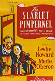 The Scarlet Pimpernel (1934) Poster - Movie Forum, Cast, Reviews