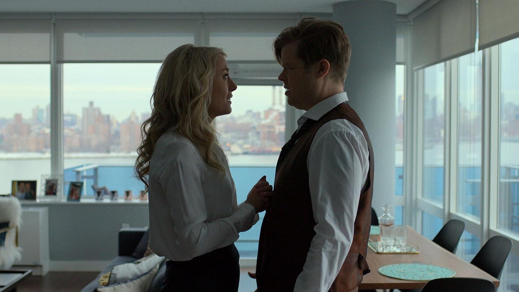 Elden Henson and Amy Rutberg in Daredevil (2015)
