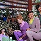 June Lockhart, Angela Cartwright, Mark Goddard, and Guy Williams in Lost in Space (1965)