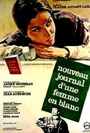 Une femme en blanc se révolte Poster