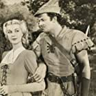 Anita Louise and Cornel Wilde in The Bandit of Sherwood Forest (1946)