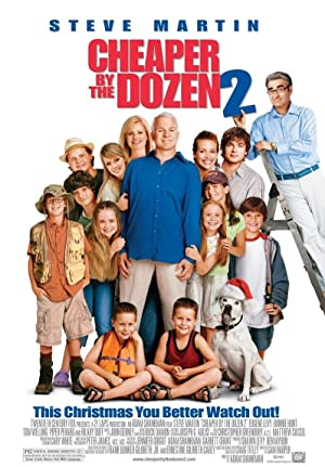 Cheaper by the Dozen 2 Poster Image