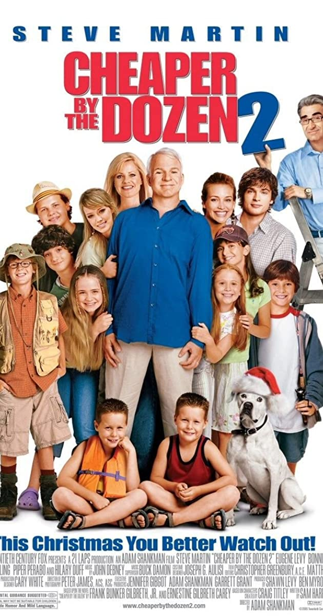 Cheaper By The Dozen 2 2005 Full Cast Crew Imdb