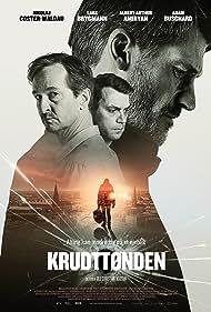 Lars Brygmann, Nikolaj Coster-Waldau, Albert Arthur Amiryan, and Adam Buschard in Krudttønden (2020)