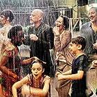 Stefano Accorsi, Edoardo Leo, Filippo Nigro, Jasmine Trinca, Serra Yilmaz, and Sara Ciocca in La dea fortuna (2019)