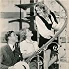 Joan Blondell, Lana Turner, and George Murphy in Two Girls on Broadway (1940)