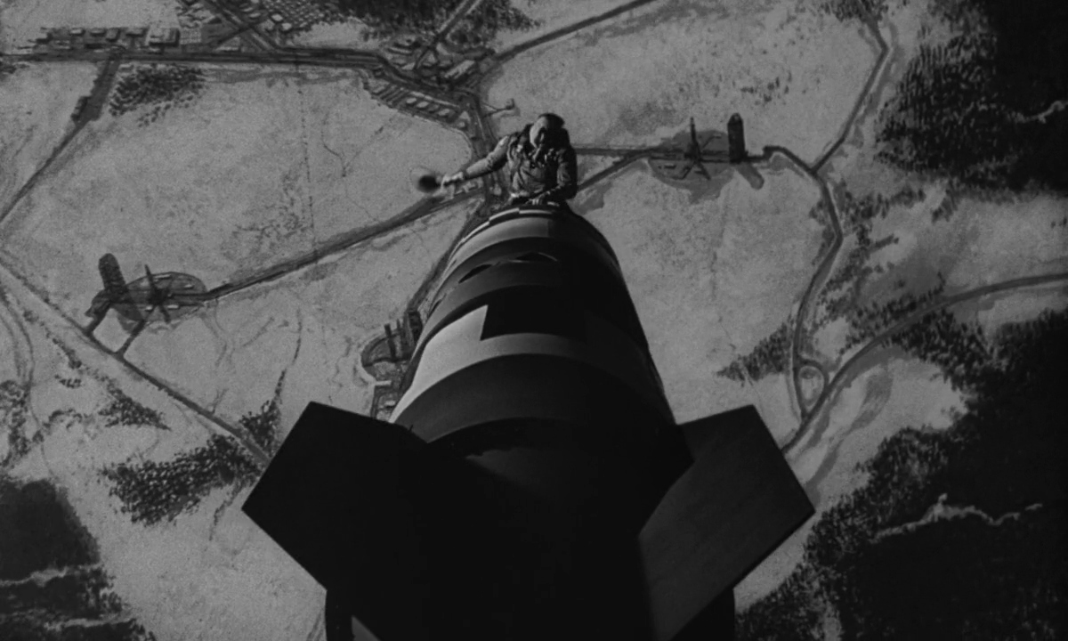 Slim Pickens in Dr Strangelove or How I Learned to Stop Worrying and Love the Bomb 1964