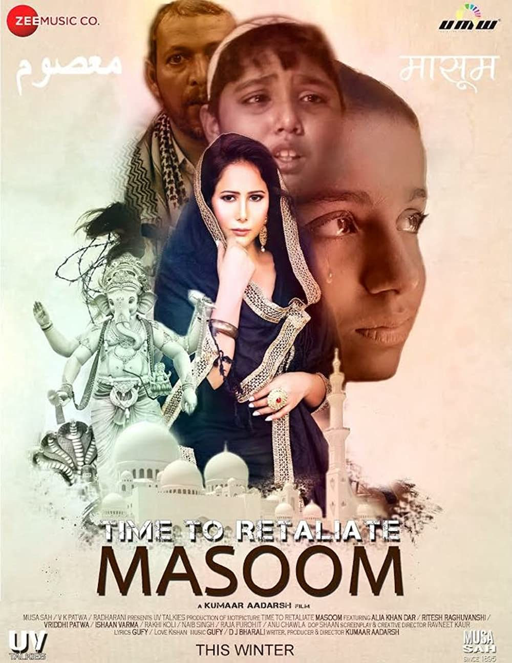 Time To Retaliate Masoom 2019 Hindi Movie 480p HDRip ESub 350MB Download