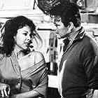 Dorothy Dandridge and Stuart Whitman in The Decks Ran Red (1958)
