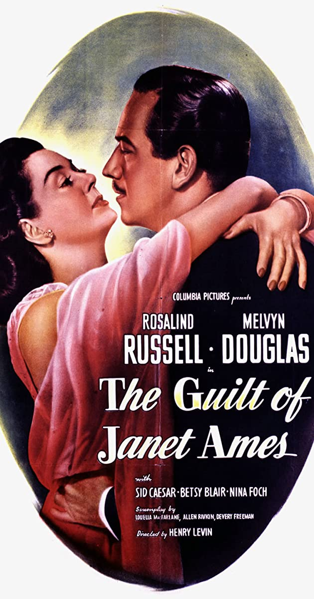 Subtitle of The Guilt of Janet Ames